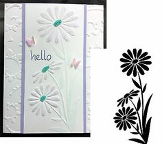 Mouse over image to zoom       Embossing Folder DARICE - Large Daisy NEW 1218-111      Have one to sell? Sell it yourself Embossing Folder DARICE - Large Daisy NEW 1218-111