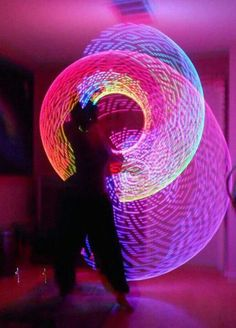 #lightshow I just bought my first set of l.e.d. poi balls, this is going to be fun!