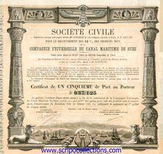 Canal Maritime de Suez/ Co Soc Civile Universelle du