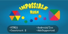 Impossible Rush (HTML5 Game + Construct 2 CAPX) - https://codeholder.net/item/html5/impossible-rush-html5-game-construct-2-capx