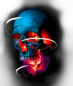 Skull Rose Tattoos, Body Art Tattoos, Sleeve Tattoos, Skull Tattoo Design, Tattoo Designs, Hyper Realistic Tattoo, Skull Reference, Beautiful Flower Tattoos, Skull Artwork