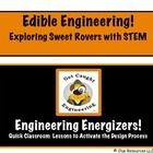 """FREEBIE! SWEET STEM-TASTIC ROVERS! Integrate STEM with a study of the Moon or Mars? Absolutely…and let's make it a tasty experience. Not with green cheese mind you, because, after all """"learning is sweet!"""" This is sample lesson from a bundle of  Edible Engineering."""