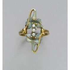 anel René Lalique, 1900