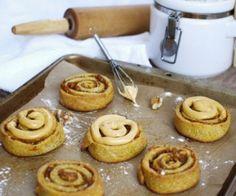 Pumpkin Butter Cinnamon Rolls Recipe | Paleo inspired, real food