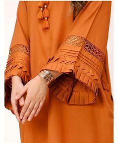 Kurti Sleeves Design, Sleeves Designs For Dresses, Kurta Neck Design, Dress Neck Designs, Sleeve Designs, Pakistani Fashion Party Wear, Pakistani Dresses Casual, Pakistani Dress Design, Pakistani Designer Clothes