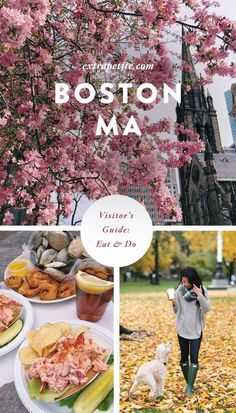 My Boston, MA travel guide for visitors (activities & food) - what to do, where to eat