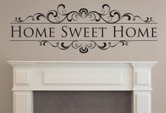 Home Sweet Home - Twiggy Decor Decor, Wooden, Home Decor Decals, Home, Wooden Signs, Color