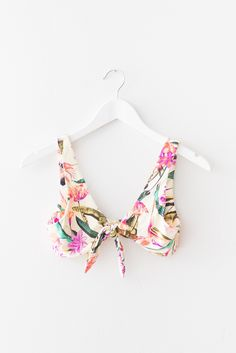 Front Knot Bikini Top
