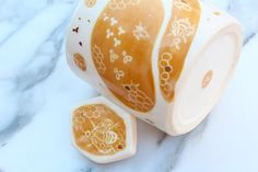 Auric Bee Ceramics Mug by clear blur design