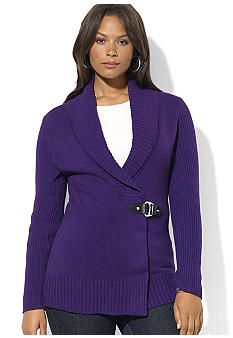 Lauren Ralph Lauren Plus Size Ribbed Shawl Cardigan Shawl Cardigan, Ralph Lauren, Plus Size, Blazer, Boutique, My Style, Sweaters, Jackets, Outfits