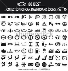 Image for Chrysler Dashboard Warning Lights Symbols