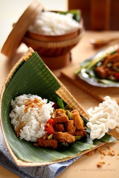 Fried Spiced Tempe | Ate this almost every day in Bali, it's the best! And healthy too :D