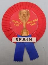 Spain 1966 World Cup Football Rosette - Very nice condition!