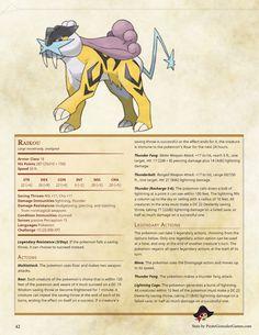 Pokemon D&D Johto Pokedex — Pirate Gonzalez Games Pokemon Dungeon, Pokemon Rpg, Pokemon Pokedex, Pokemon Games, Dungeons And Dragons Homebrew, D&d Dungeons And Dragons, Dnd Characters, Fantasy Characters, Dnd Classes
