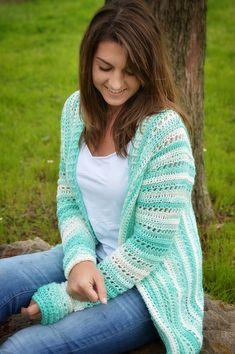 Garden Cardi By The Stitch&Hook - Purchased Crochet Pattern - (ravelry)