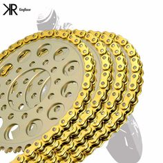 Motorcycle Drive Chain 420 L74 For YAMAHA POCKE 80-81 VOGEL 80-81