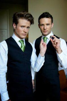Dougie Harry with Tom and Gi's wedding rings :)