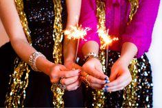 sequins & sparklers via Kastles