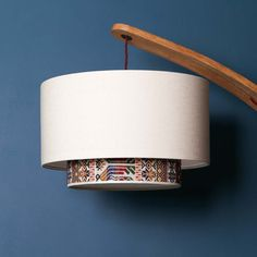 Antigua Drum Tiered Lampshade  Tribal Tapestry by ARumFellow $322.31