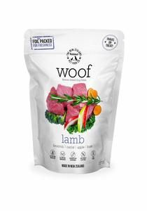 Made in New Zealand.  ​ WOOF is made using only the highest quality ingredients aimed at nourishing your pet's health. We combine the nutrition and taste of fresh, raw food and put it through a gentle freeze drying process which protects all the natural enzymes and nutrients, so none of the wholesome goodness is cooked out.    Raw, Natural, and Delicious!