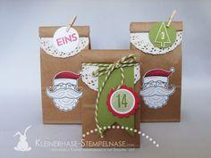 Stampin Up Adventskalender Weihnachten 24 Türchen