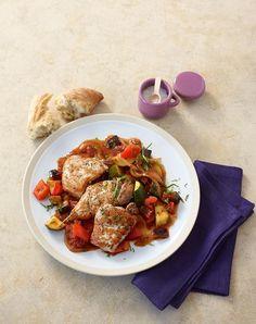 Rezept:   Ratatouille-Schnitzel