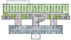 oncology center floor plans | The floor plan below represents the layout of a typical research ...
