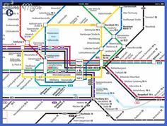 cool Hamburg Metro Map