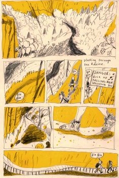 Another comic about when Beth Walrond and I went to Germany last summer to walk the Harz Witches Trail. This is about the time I chucked the map into the ravine. Bd Art, Comic Layout, Graphic Novel Art, Comic Panels, Humor Grafico, Sketchbook Inspiration, Art Graphique, Book Illustration, Book Design