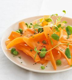 Fresh Carrot, Pea and Mint Salad Recipe | Return to Sunday Supper