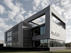 EQUITONE facade panels: EQUITONE facade panels:Belgium - Temse - office building