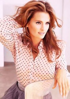 4dbdb0cd65b Stana Katic loves gardening and traveling. Her hidden talent is that she s  a good whistler
