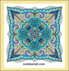 Digital quilt by Carla Barrett