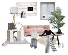 """""""I cant say 'no' when you say 'please'"""" by golden-rod ❤ liked on Polyvore featuring interior, interiors, interior design, home, home decor, interior decorating, A.P.C., Arlo Blinds, Nearly Natural and Americanflat"""