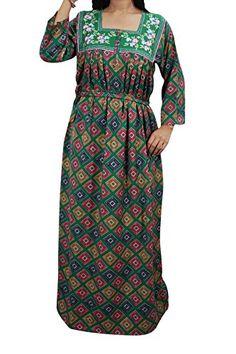 Mogul Interior House Dress Caftan Neck embroidered Green ... https://www.amazon.co.uk/dp/B01N405WYA/ref=cm_sw_r_pi_dp_x_yG12yb4VFWQQ0