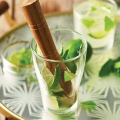 Our favorite is sure to become yours! Try our #HEBrecipe for a Prosecco Mojito. Made with mint, light rum, Central Market Organics Prosecco Flavored Italian Soda and a lime for garnish.