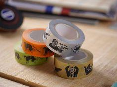 博客來-倉敷意匠-日本橡皮擦版畫家NANCY SEKI_歐吉桑和紙膠帶(雙色)