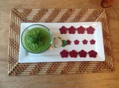 Asparagus Soup with Beets