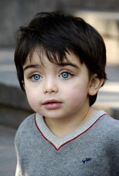 Blue eyes, Armenian boy