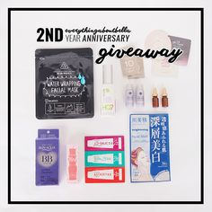 Everythingaboutbella 2nd Anniversary Giveaway | everythingaboutbella