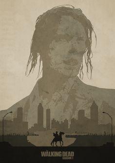The Walking Dead: Season 1 Poster by LandLCreations on DeviantArt