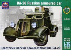 1/35 BA-20 Russian armoured car
