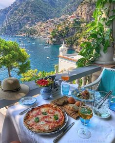 Travel Discover Lunch in Positano Italy tag someone you would take with! Photo by . Vacation Places Dream Vacations Vacation Spots Italy Vacation Oh The Places You& Go Cool Places To Visit Beautiful Places To Travel Italy Places To Visit Positano Italy Beautiful Places To Travel, Beautiful World, Romantic Travel, Beautiful Moments, Beautiful People, Amazing Places, Vacation Places, Dream Vacations, Italy Vacation