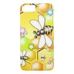 Cute Honey Bees iPhone 7 Case