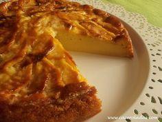 Tarta de manzana (Sin azúcar)