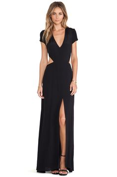 Lovers + Friends Lovers + Friends Harper Maxi Dress in Black | REVOLVE