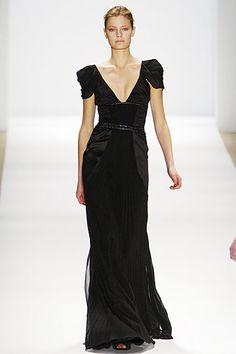 Goth goddess dress, miele f/w 10