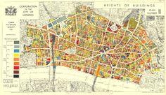 city planning maps - London