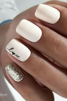 30 ideas which nail polish to choose - My Nails Cute Acrylic Nails, Acrylic Nail Designs, Cute Nails, Bride Nails, Wedding Nails, Rose Wedding, Stylish Nails, Trendy Nails, Hair And Nails