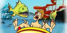لعبة سمكة الأمازون القاتلة من موقع العاب ماجد